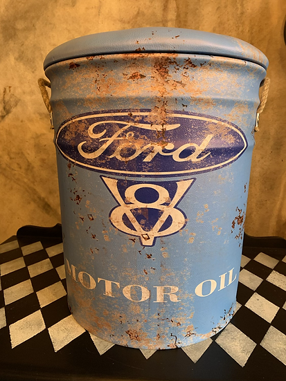 Large Ford Storage Stool
