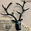 Thumbnail: Wall Hanging Stag Head with Birds