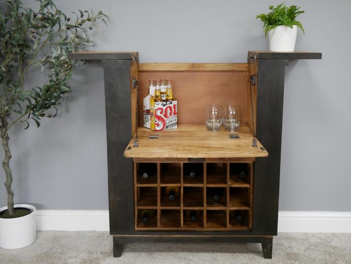Mango Wood Wine / Drinks Cabinet