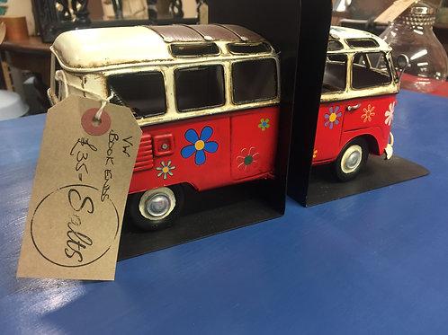 VW Camper Book Ends