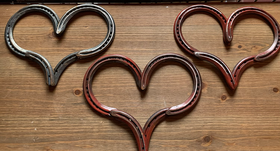 Horse Shoe Heart Posted