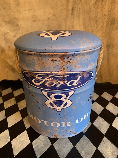 Small Ford Storage Stool