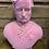 Thumbnail: Large Pink Flock Albert Bust