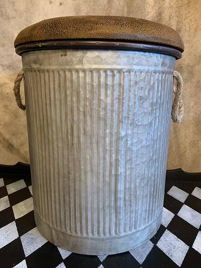 Medium Zinc Storage Stool