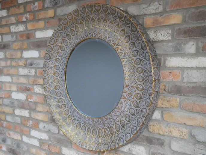 Large Statement Mirror