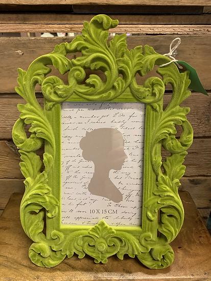 Elegant Green Baroque Style Frame