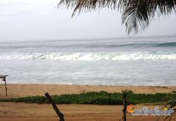 la playa a su disposición