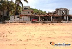 casa vista desde playa