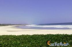 tranquila y relajada playa de descan