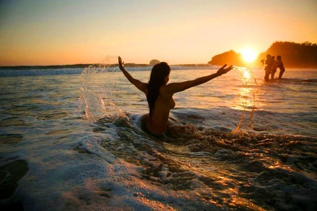 """""""Playa del Amor"""" 8 minutos caminando"""