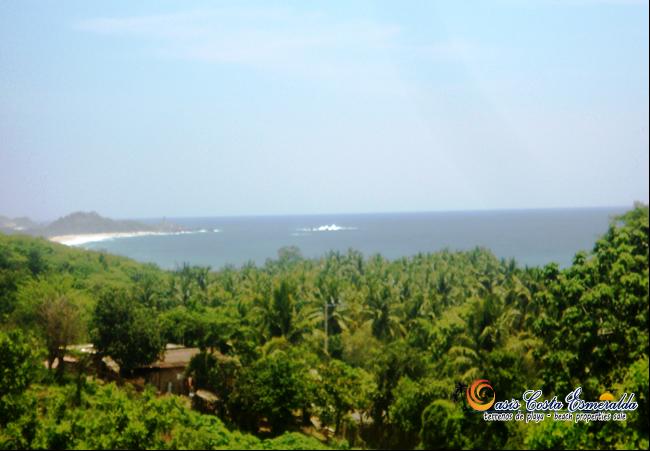 vista del mar desde