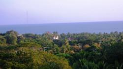 relajante vista al mar