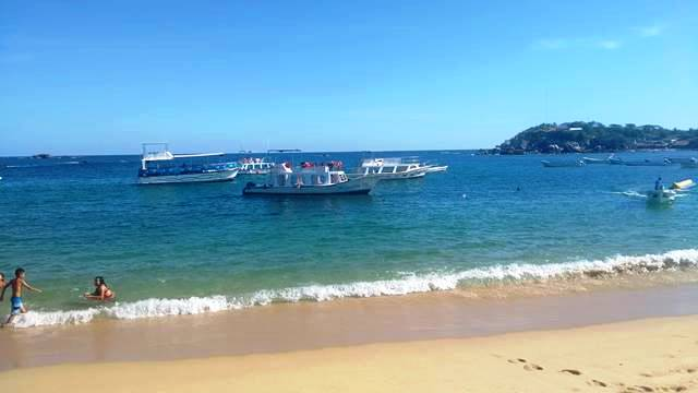 una de las playas más hermosas...