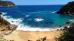 Venta de Terreno 4800 m2 frente a Playa virgen a 50 minutos de Huatulco / FOR SELL LAND 4800 m2 IN FRONT A VIRGIN BEACH, TO 50 MINUTES FROM Huatulco