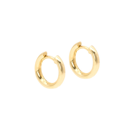 14mm hoop earrings