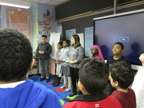 Jumping In: Affecting Change in the World through Improvisation, Breath & Bravery at PS 279