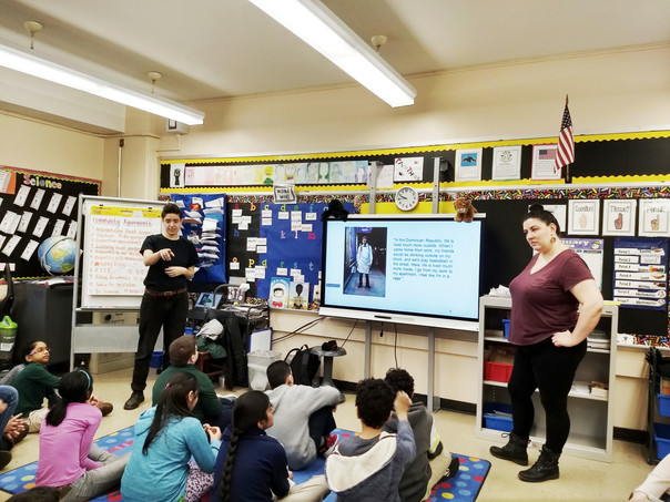 Capturing New York City in an Astoria Classroom