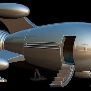 Rocketship (Digital)