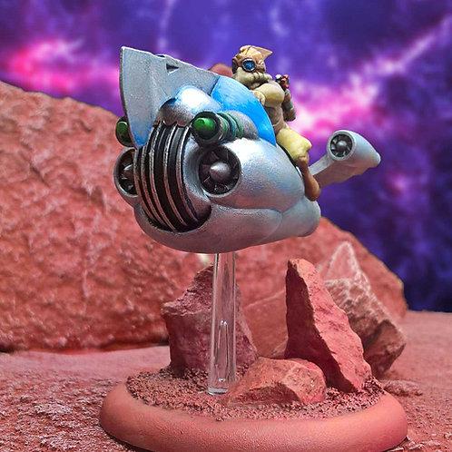 Hawkman Rocketcycle (Resin)
