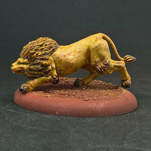 Big Alien Cat Prowling (Resin)