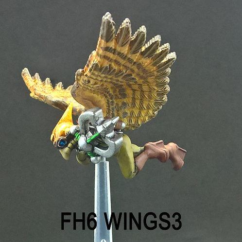 Flying Hawkman 6 (Resin)