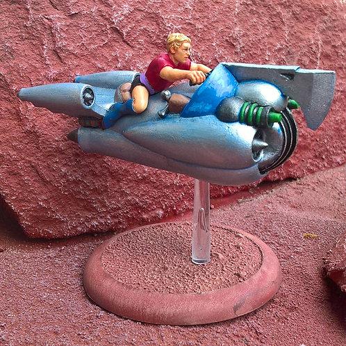 Dash on Rocketcycle (Resin)