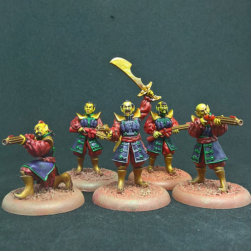 Mongol Squad (Resin)