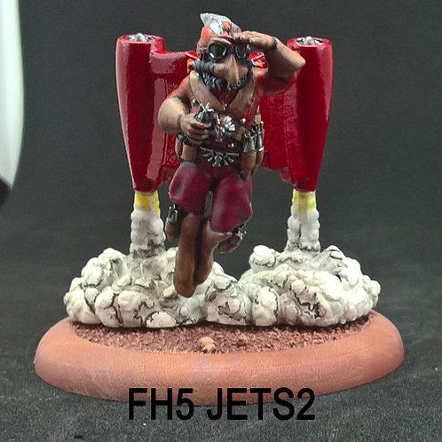 Flying Hawkman 5 (Resin)