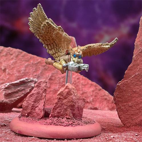 Flying Hawkman 2 (Resin)