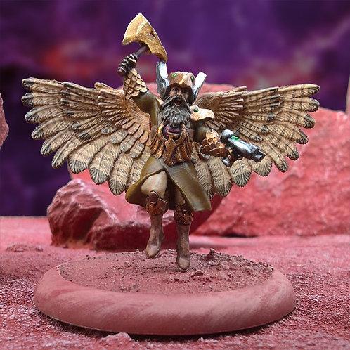 King of the Hawkmen (Resin)