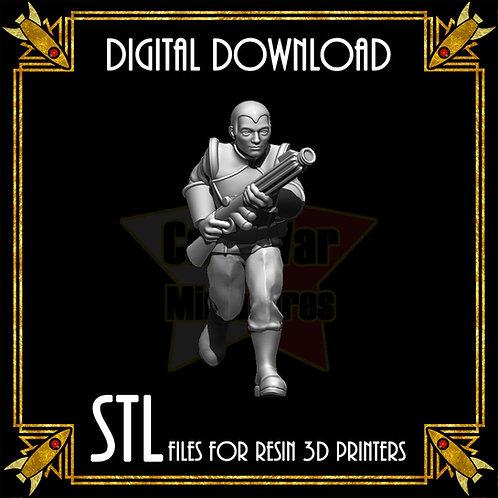 Fleet Trooper 6, Gun Up (Digital)