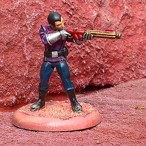 Fleet Trooper 5, shoot (Pewter)