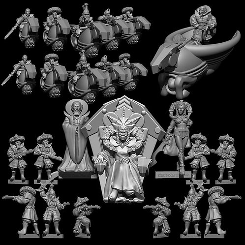 Mongol Army DEAL (Resin)