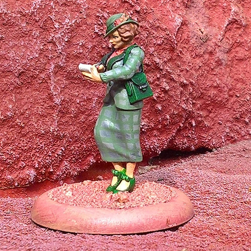 Earthling Gail (Pewter)