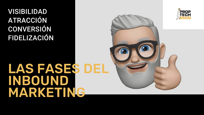 Cuales son las fases principales del inbound marketing proptech