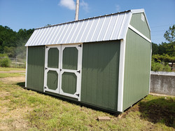 12x16 Side Lofted Barn