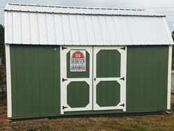 Side Lofted Barn 12x16