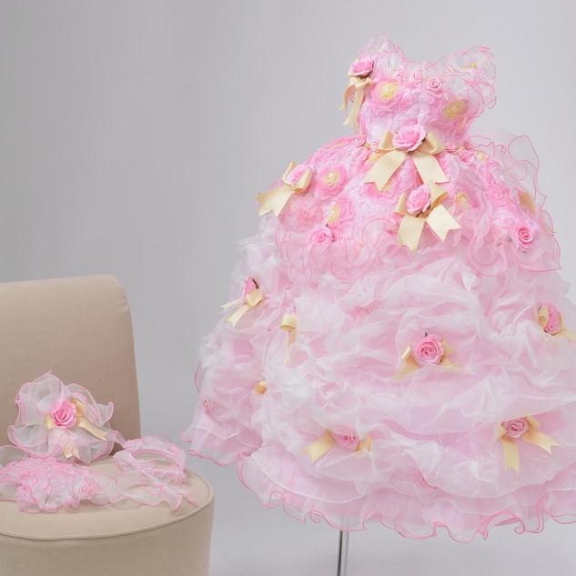 3歳女児ドレス1