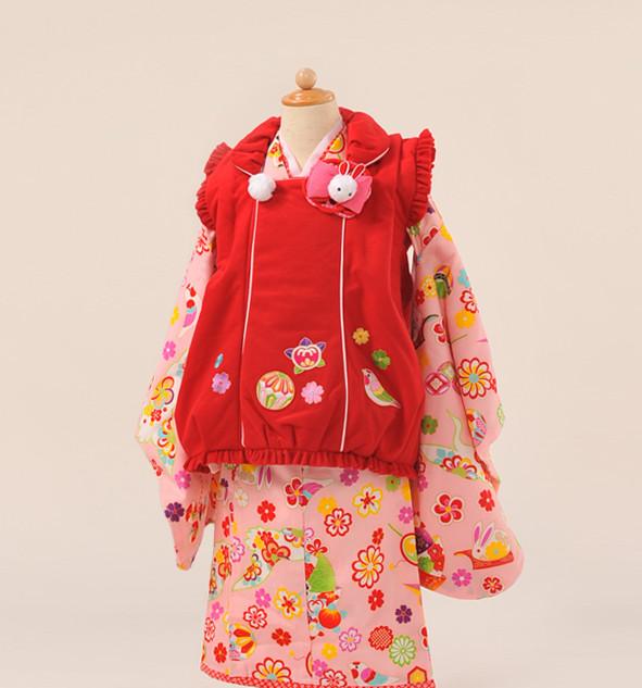 3歳女児着物乙葉
