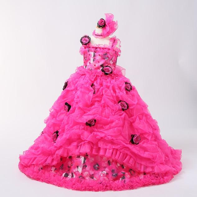 7歳女児ドレス2