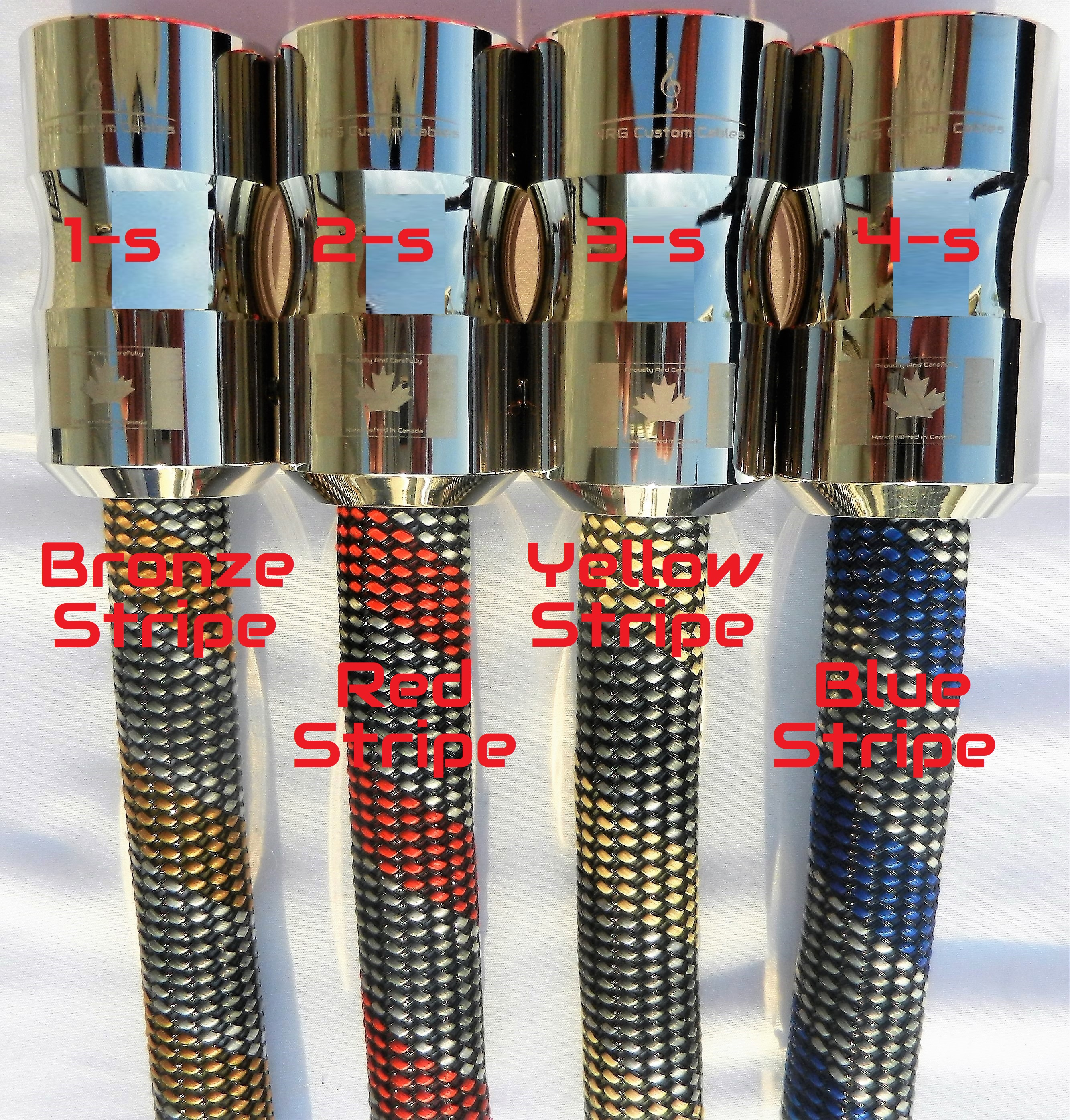 NRG Custom Cables - CS and speaker sleev