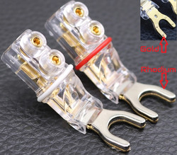 NRG Custom Cables - #1 Gold Spades (Gold