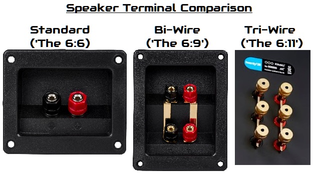 speaker terminal comparison