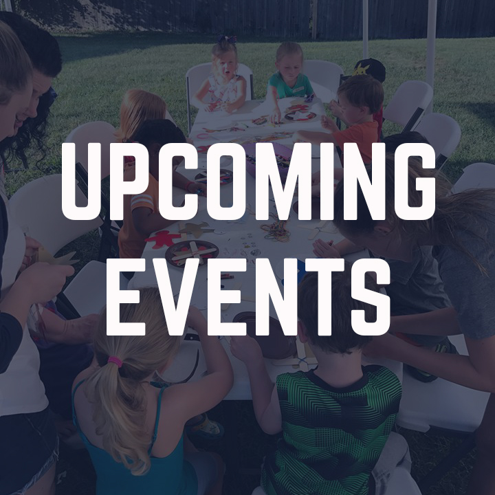 Upcoming Events Centered