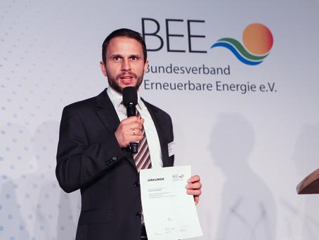 SINN Power wins BEE Innovation Award 2017