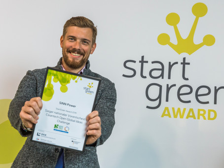 SINN Power wins the Cleantech Open Global Ideas Challenge 2019 in Los Angeles