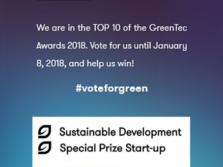 Voting starts today: SINN Power is TOP 10 Nominee in the GreenTec Awards 2018