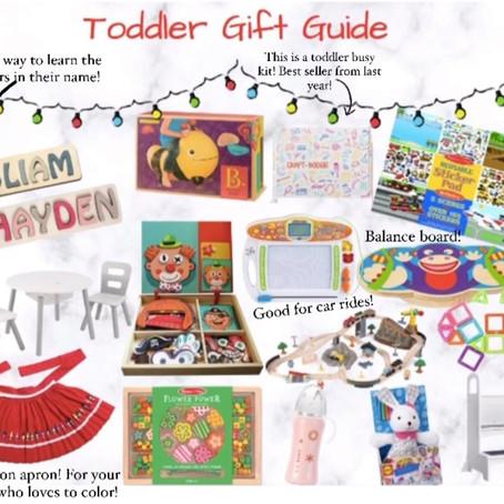 Toddler Gift Guide!