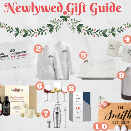 Newlywed Gift Guide