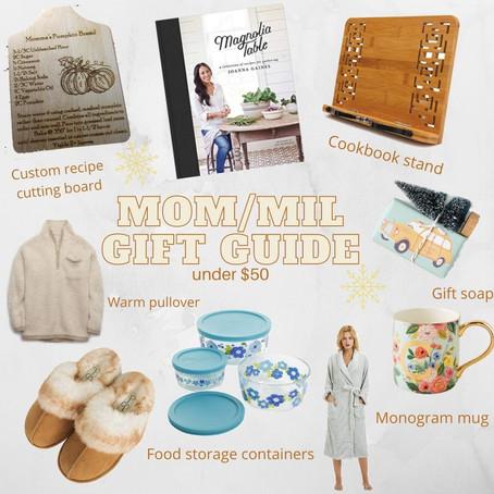 Mom/MIL Gift Guide!